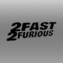 Emblema 2fast2fourious