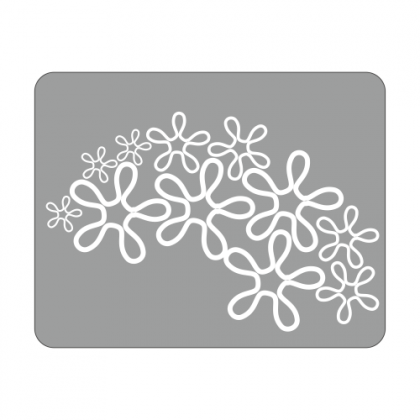 Sticker Laptop Floral 1
