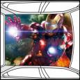 Colantare Plafon Iron Man,montaj inclus