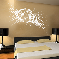 Sticker dormitor 1