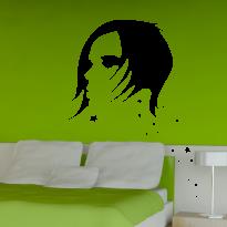 Sticker Perete Dormitor 80-Rihanna