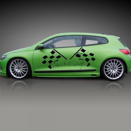 Sticker Auto Patratele 23