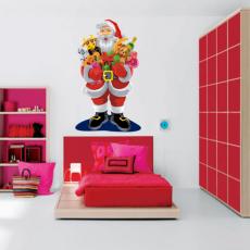 Sticker Mos Craciun & cadourile