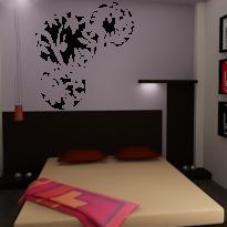 Sticker Perete Dormitor 37