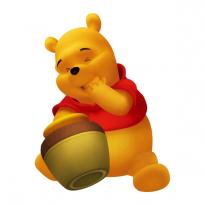 Sticker autocolant Winnie The Pooh