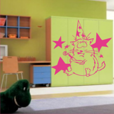 Sticker Atomic Kitty