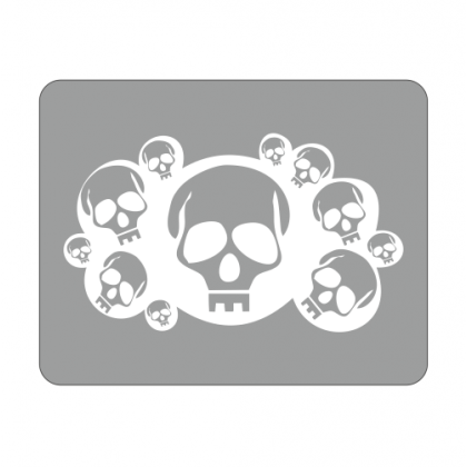 Sticker Laptop Dead Head