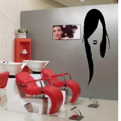Sticker Perete salon coafura