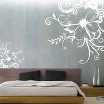 Sticker Perete Floare Dormitor 87
