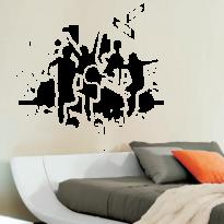 Sticker Perete Dormitor 54