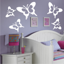 Sticker Perete Fluturi