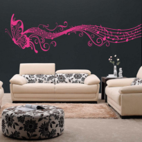 Sticker Perete Living 63-Fluture Portativ